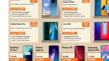 Amazon Great Indian Sale: Deals on iPhone XR, OnePlus 7T, Redmi Note 8 Pro and more mobiles