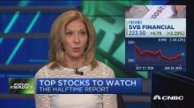 Final Trades: Silicon Valley Bank, Palo Alto Networks, Ag...