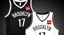 The Nets will wear big red ad boxes on their jerseys next year