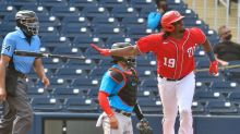 Did the Washington Nationals tip how they want their ideal Opening Day batting order to look?