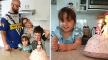 Mum reveals tiny detail in photo led to daughter's shock diagnosis