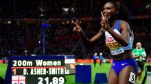 Dina might! Asher-Smith storms to European sprint double