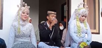 Man marries two women after ex crashes wedding