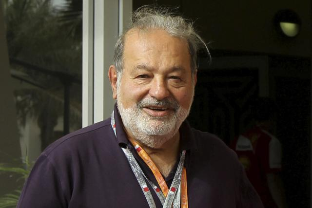 Carlos Slim Helu during the Formula 1 Grand Prix, Bahrain in Manama/Sakhir on April 21, 2013.