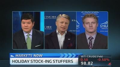 Holiday stock picks: INTC, AMTD & more