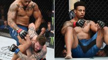 Controversial ex-NFL player's UFC debut ends in DQ shame
