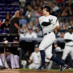 Yankees' Judge ties one Maris mark, Stanton inches closer to another