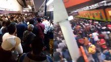 Alarmantes imágenes en Metro Pantitlán de Ciudad de México; la gente se amontona como si no hubiera pandemia