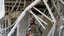 Taliban claims Kabul suicide bombing near U.S. Embassy