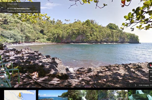 Google's Trekker project brings beautiful Hawaii imagery to Street View