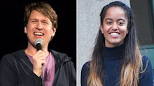 Comedian Pete Holmes Accidentally Told Malia Obama to 'Shut the F— Up' During His Comedy Show