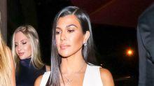 What Kourtney Kardashian Wore to Dinner With Scott Disick and Sofia Richie