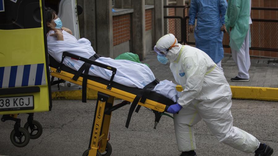 Confusion in Spain as virus deaths rise again