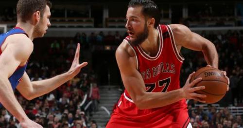 Basket - NBA - Joffrey Lauvergne laissé libre par les Chicago Bulls