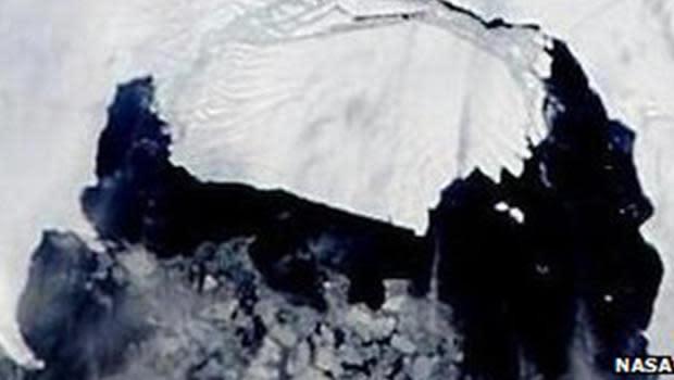 Watch: Iceberg bigger than Seattle breaks off of glacier