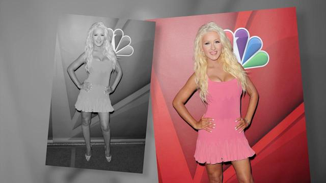 Christina Aguilera Shows Off Her Dramatic Weight Loss