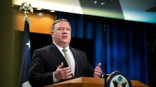 Pompeo says U.S. to take action to deny China access to Americans' data