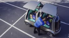 Grocery delivery, with no humans drivers, is underway