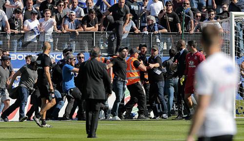 Ligue 1: Nach Krawallen in Bastia: weitere elf Festnahmen