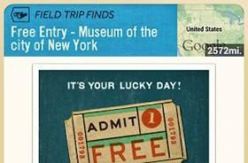 Google's Field Trip app granting free admission to 13 museums (update: now 23)