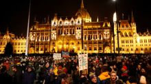 Opposition lawmakers ejected from Hungary state TV after protest