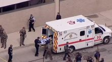 Carjacking suspect guns down three police officers in Chicago police station shoot out