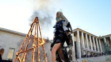 Rick Owen's Paris Fashion Week show was statement about anger and destruction
