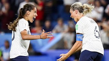 France survives Brazil with extra-time goal