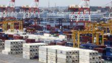 Japans Exporte sinken nicht so stark wie befürchtet