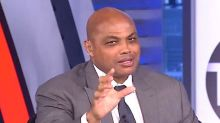 Charles Barkley Interrupts NBA Analysis To Mock Falcons' 'Choke Job'