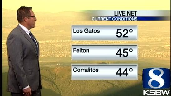 Check out your Thursday Morning KSBW Weather Forecast 06 20 13