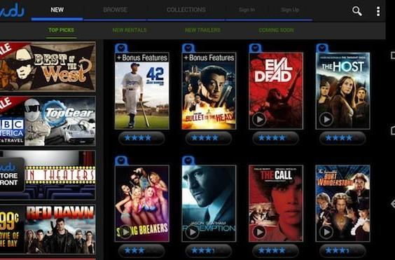 Vudu for Android now available on (some) phones, not just tablets