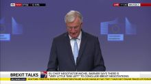 Brexit: EU negotiator Michel Barnier 'disappointed' after little progress in trade deal talks