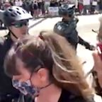 Black Congresswoman Pepper-Sprayed By Police During Ohio Demonstration
