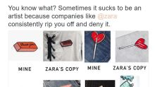 Designer Takes To Twitter To Accuse Zara Of Copying Her Designs