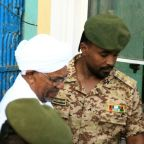 Sudan's Bashir in court for graft trial: AFP