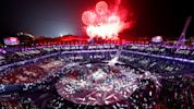 Curtain falls on Olympics with raucous ceremony