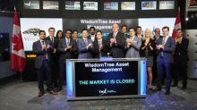 WisdomTree Asset Management closes the market