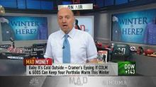 Cramer on winter apparel plays: Columbia's steadier, but ...