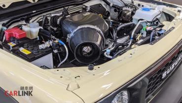 「視覺馬力」大暴增!Suzuki Jimny MK4高感型強化進氣by Gruppe M