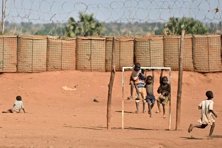 One mother said she watched her children grow up in the camp -- but at least they are safe (AFP Photo/TONY KARUMBA)