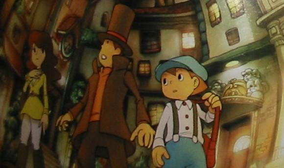 Level 5 trademarks 'Professor Layton and the Unwound Future'