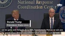 Basket - NBA : Donald Trump : « Les gens sont fatigués de la NBA »