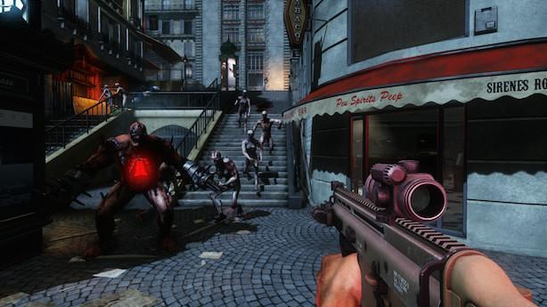 Killing Floor 2 gets PS4 systems messy with Zed blood