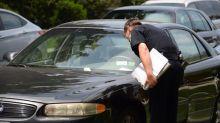 Traffic warden tickets car with dead man inside