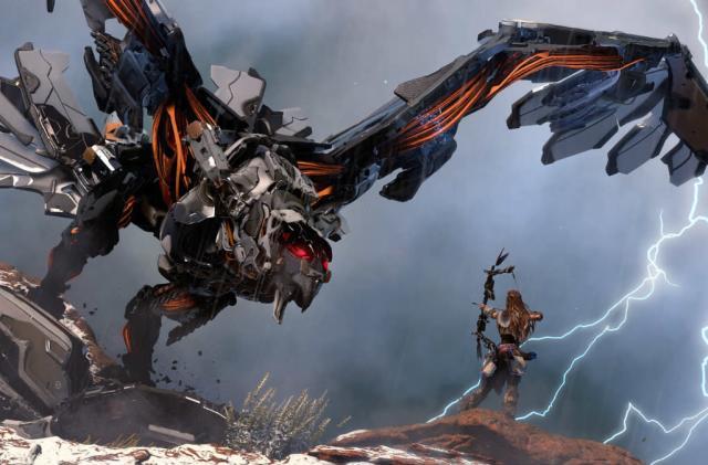 Robot dinos, archery and mystery in 'Horizon: Zero Dawn'