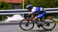 Remco Evenepoel back training indoors as road to recovery truly begins