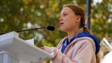 Greta Thunberg politely shuts down heckler during during speech in US: 'Maybe you can do it later'