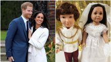 Han creado los muñecos de Harry y Meghan Markle y el resultado no es nada brillante