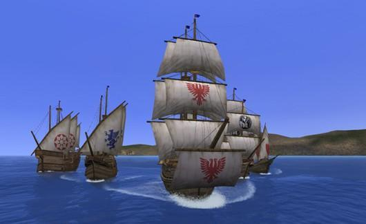 Uncharted Waters Online patch revamps naval PvP, adds new area